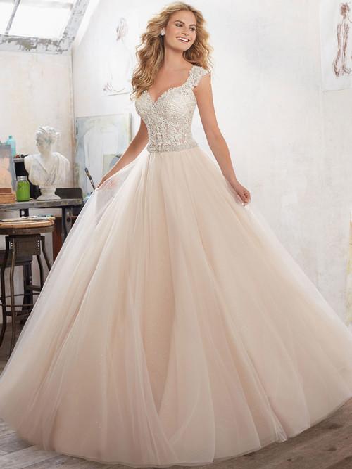Mori Lee 8126 Sweetheart Wedding Dress Marigold