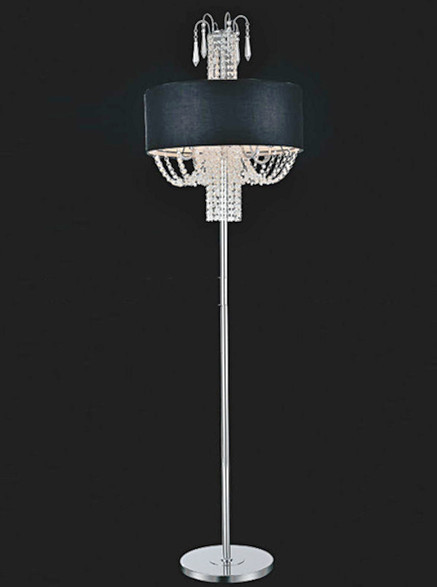 Modern Contemporary Crystal Floor Lamp CF58801 - Montreal Canada ...