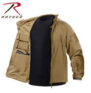 Coyote Concealed Carry Soft Shell Jacket