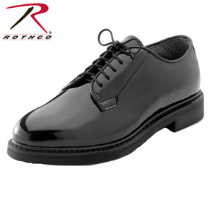 Rothco's High Gloss Oxfords Are A Number One Seller In Uniform Shoes. These Oxfords Are Lightweight And Have A Mirror Finish For Easy Care; The Outsole Has An Oil Resistant Polyurethane Coating And Have A Removable Cushion Insole. Rothco's Dress Oxfords Are Constructed With A Traditional Goodyear Welt Thus Improving Durability And Lifespan. The Oxfords Shoes Are Available In Sizes 3 - 15 Regular Width And 4 - 15 Wide Width (Includes Half Sizes Up To 12 1/2. This CA Proposition 65 Warning is to provide notice that this product contains chemicals known to the State of California to cause cancer and birth defects or other reproductive harm.