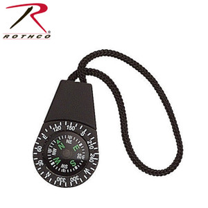 Rothco's Zipper Pull Compass can easily be attached to any zipper on any of Rothco's products like the new soft shell jacket or medium transport pack.