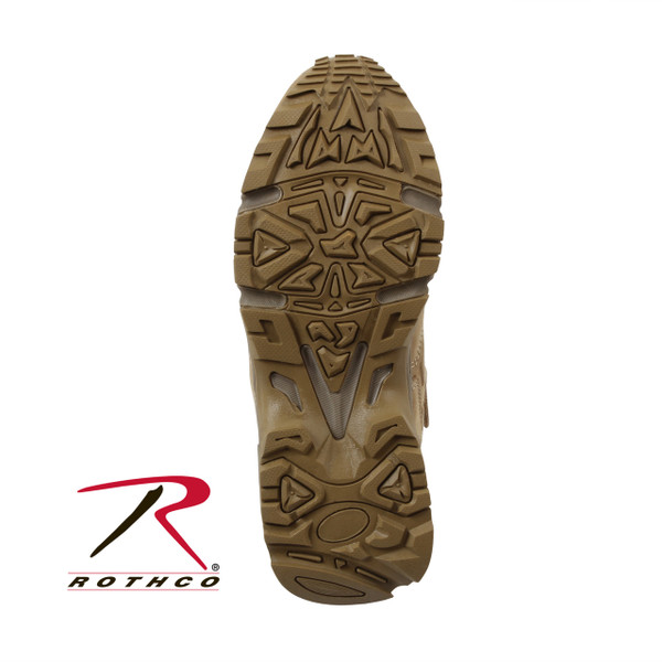 Built in steel shank and rubber outsole