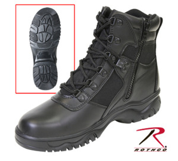 6 Inch Blood Pathogen Resistant and Waterproof Tactical Boot