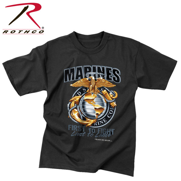 Marine's First To Fight T-shirt