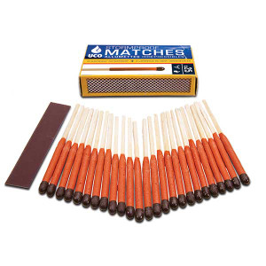 UCO Stormproof matches $4