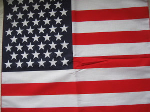 Made in USA American Flag bandanna