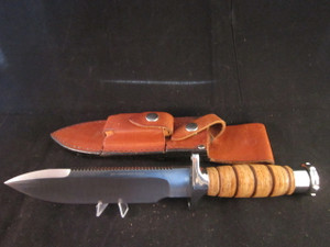 Hackman survival knife with Sheath