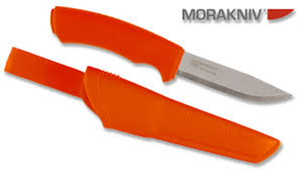 Mora Bushcraft Orange Stainless - $46