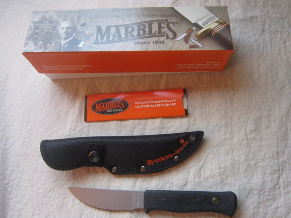NIB Marbles Plainsman USA Made model 80503 in 1095 steel
