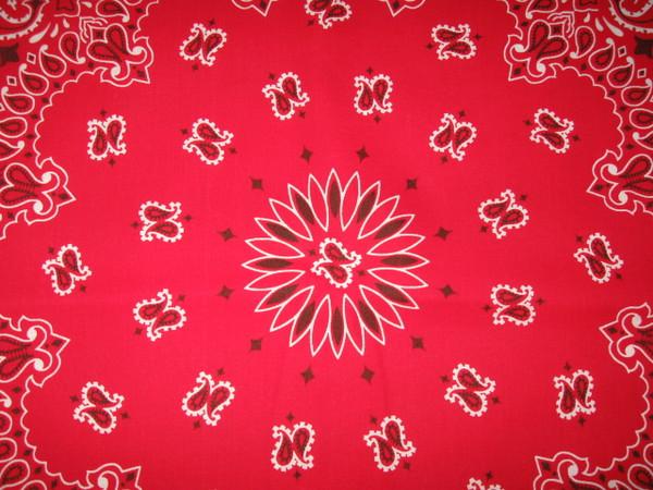 Center pattern of bandanna