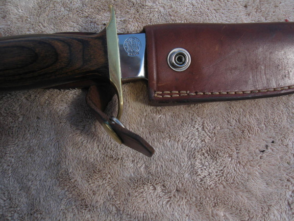 S&W logo on knife date of 1978