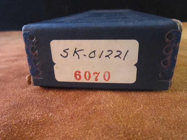 S&W Survival Series Model 6070 Skinner box with production number 1221