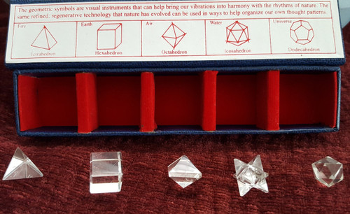 Crystal Quartz -Geometric Shapes Kit