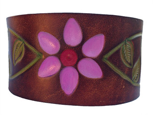 'Urban Cowgirl' Leather Bracelet
