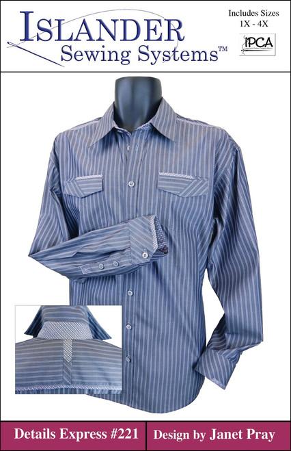 Men's Details Express size 1X- 4X