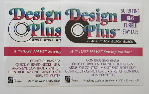 Design Plus Super Fine Bias Fusible Stay Tape