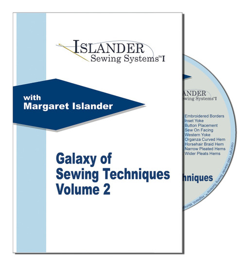 A Galaxy Of Sewing Techniques 2 DVD