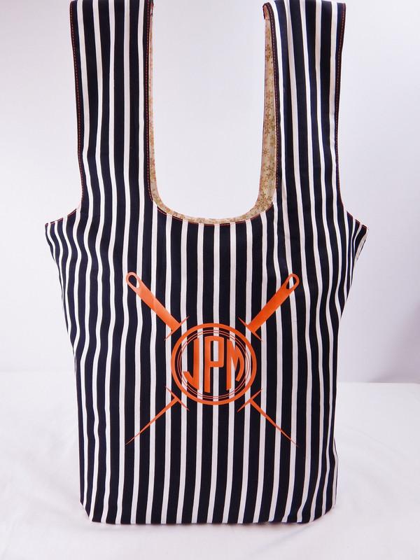 Roll 'n Snap Market Bag Paper pattern