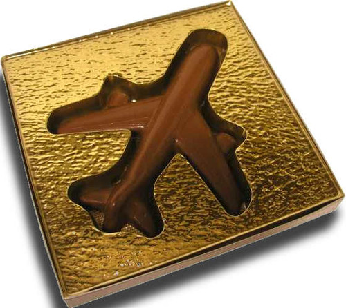 Chocolate Airplane Gift Box