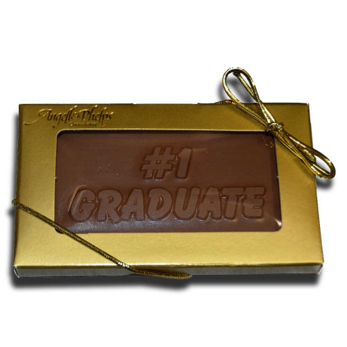 Small #1 Graduate Chocolate Bar