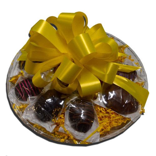 Chocolate Easter Egg Platter