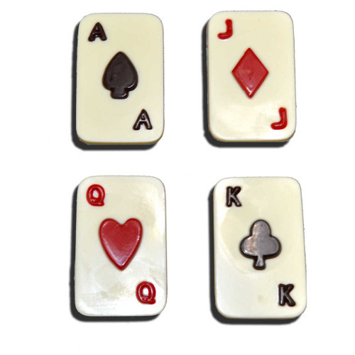 White Chocolate Playing Cards