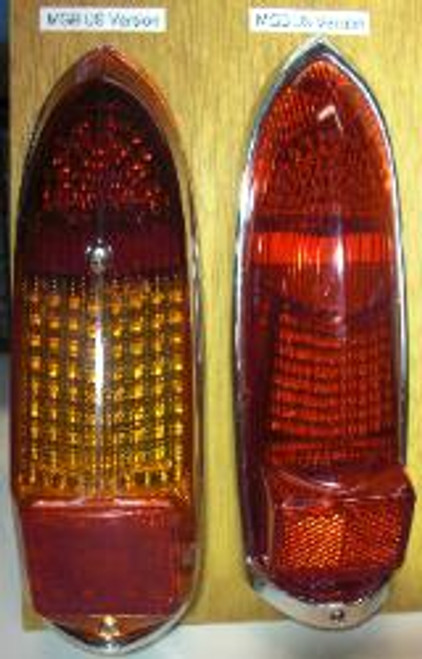 LED Tail lights 62-69 MGB Negative Ground 10 yr warranty