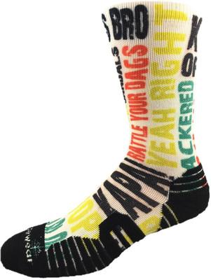 8666 Kiwi Slang Eco Sock Norsewear