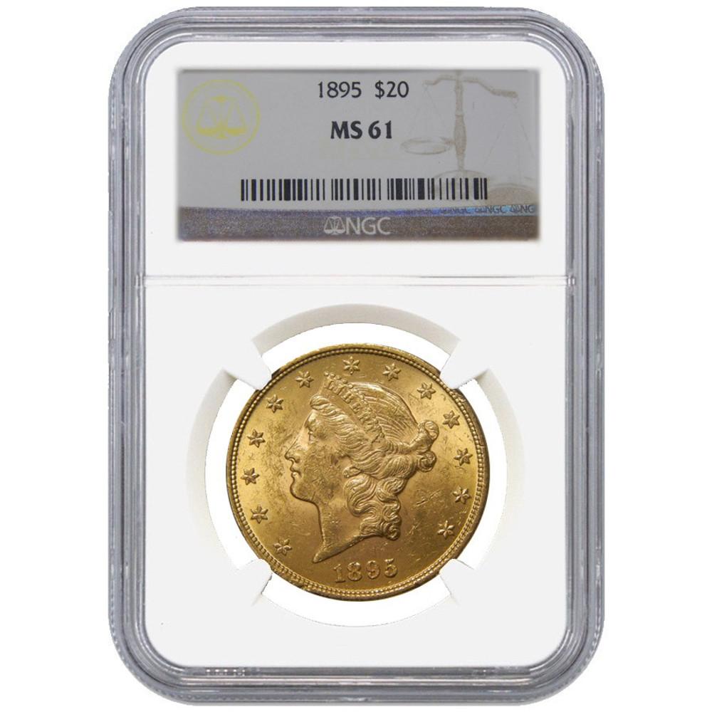 NGC/PCGS MS61 $20 Liberty Gold Coin