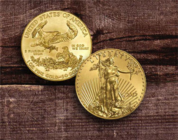 $50 American Gold Eagle 1oz.