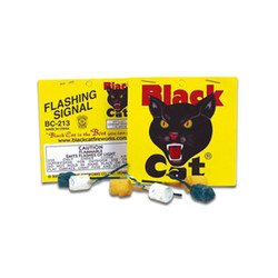 Black Cat Flashing Signal