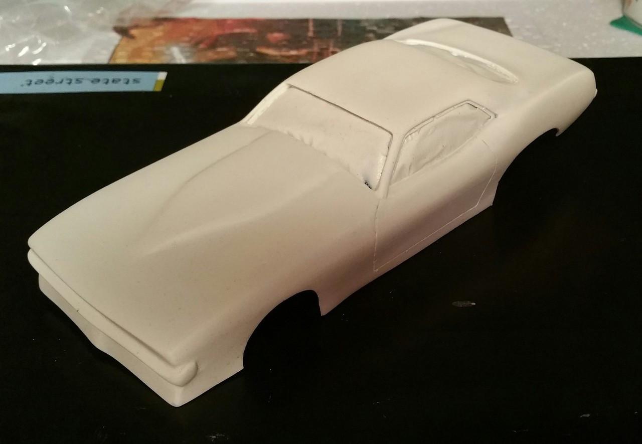 '70 Cuda Pro Mod Body 1/25