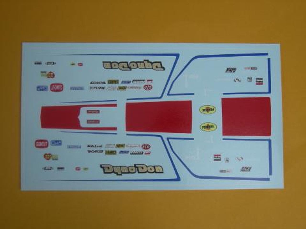 Fairmont 1978 Dyno Don Decals1/25