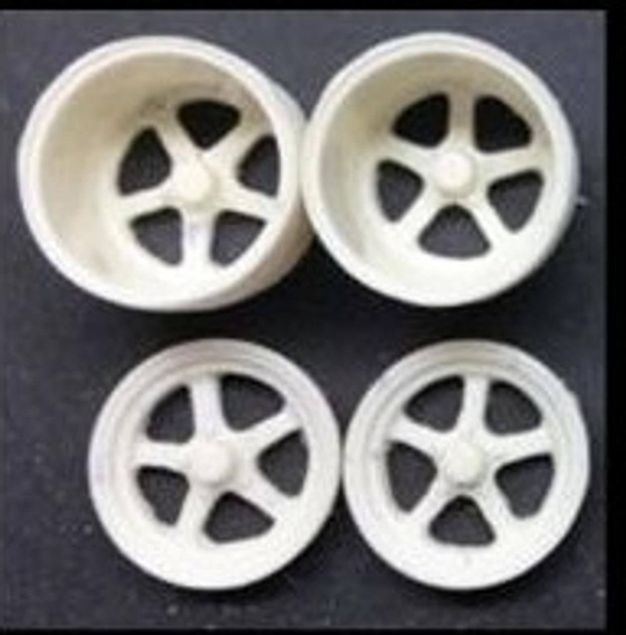 Aluma Star Drag Wheels 1/25