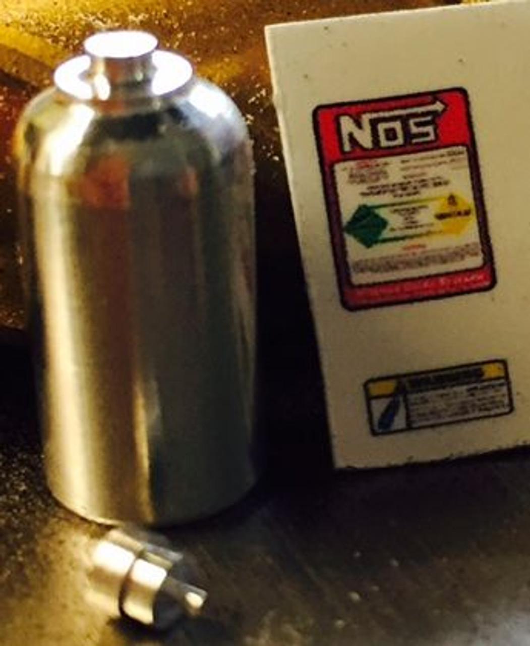 NOS Bottle, Large Aluminum 1/25