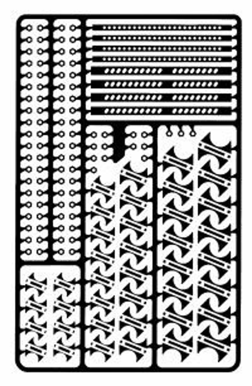 Muffler & Exhaust Pipe Detail Set - 1/25