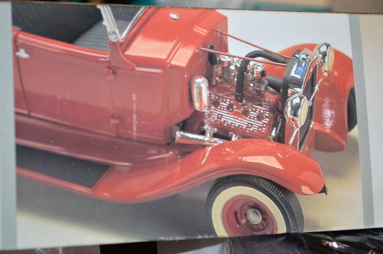 31 Model A Ford Hi-Boy Roadster 1/16