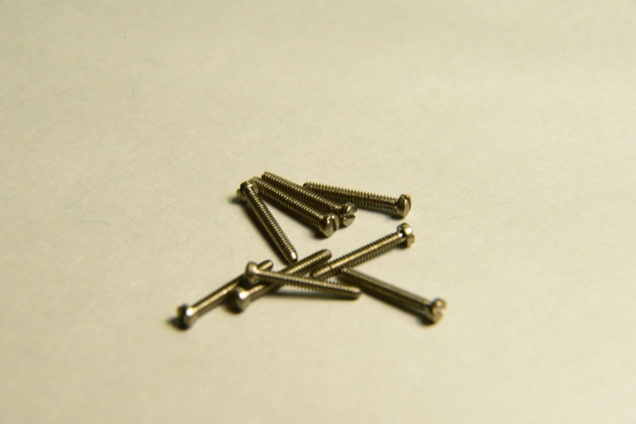 Machine Screw Pan Head Nickel M1.1