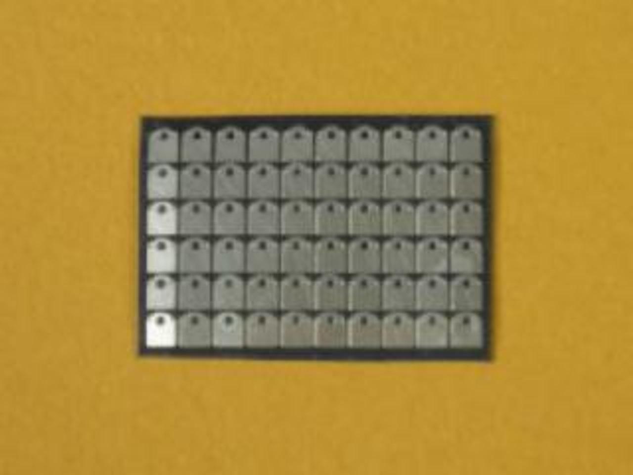 Dzus Mounting Plates Type 2 1/25