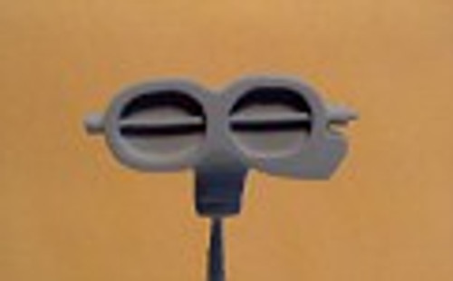 Shotgun 2-Hole Oval Blower Hat 1/25