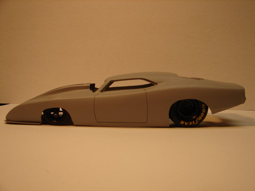 '69 Dodge Daytona Pro Mod Body 1/25