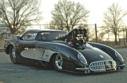 '53 Corvette Pro Mod Body 1/25