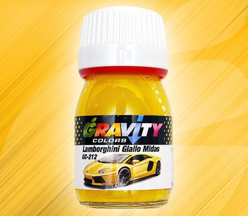Lamborghini Giallo Midas Pearl Yellow (Metallic) Paint