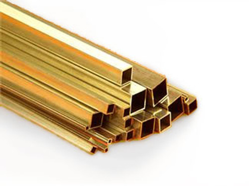 "Brass Tubing, 3/32"" Square"