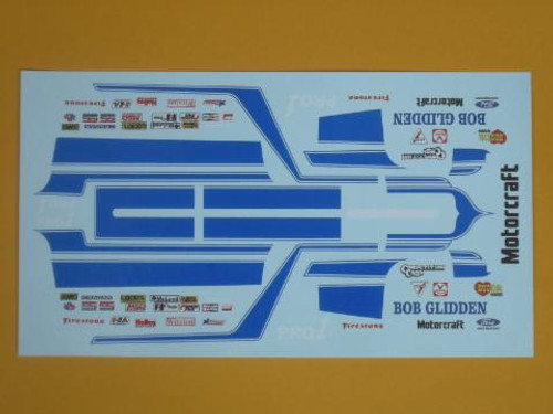Fairmont 1981 Pro Stock Bob Glidden Decals1/25
