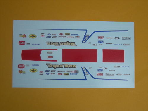 Fairmont 1979 Dyno Don Decals1/25