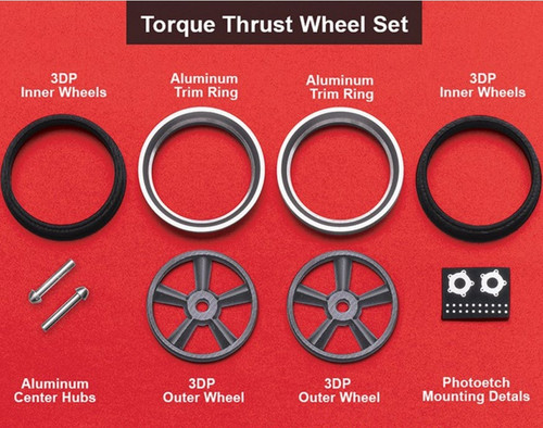 Torque Thrust Wheels, Front 'Littles' 1/25