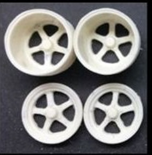 Aluma Star Drag Wheels 1/25