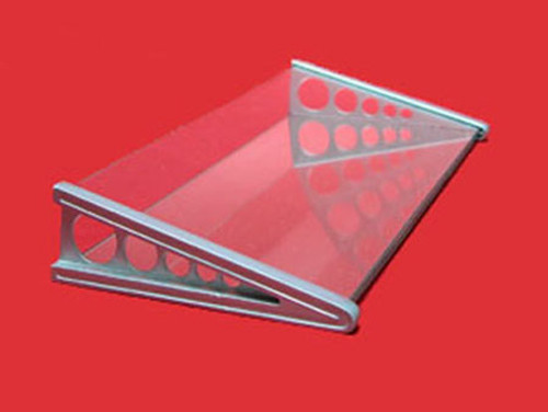 Display Stand, Angled with Mirror