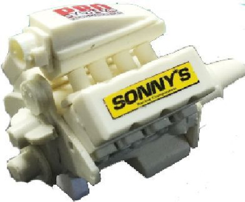 Sonny's 932 BB Tunnel Ram Engine 1/25